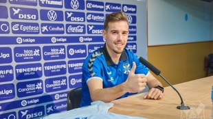 Sergio González (24) durante su presentación la temporada pasada.