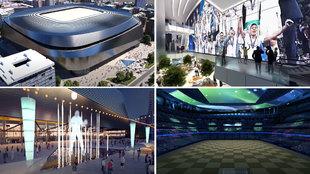 Viaje al futuro: la espectacular recreación del nuevo Bernabéu... esto no lo hemos visto nunca