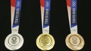 Medallas de los Juegos Olímpicos de Tokio: cómo son, de qué están...
