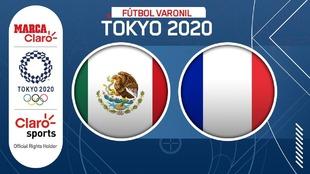 México vs Francia, en vivo