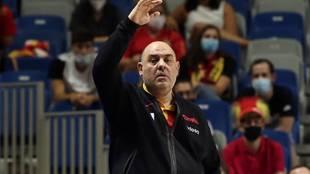 Lucas Mondelo durante el pasado Eurobasket
