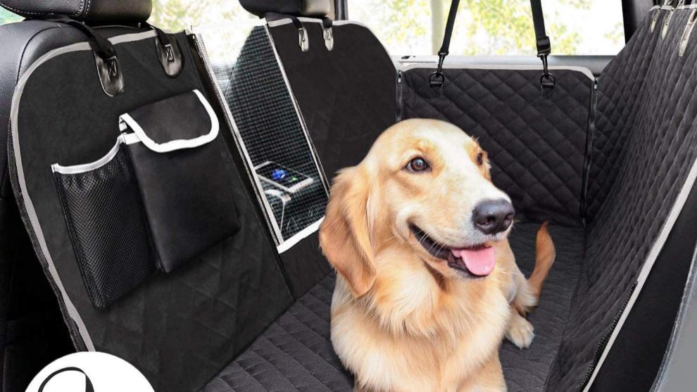 Esta es la mejor funda para llevar a tu perro en los asientos del coche.