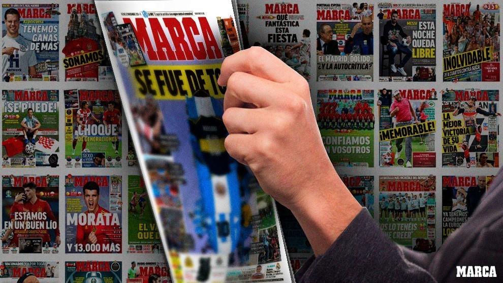 Así es la portada de MARCA de este viernes