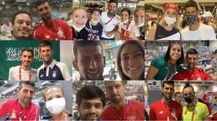 Todos quieren a Nole: Djokovic, la gran estrella de la Villa Olímpica