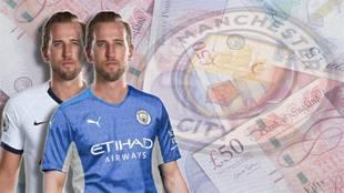 Harry Kane Manchester City