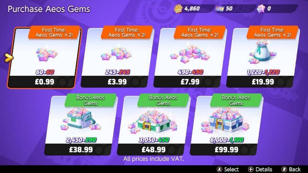 purchase aeos gems pokemon unite