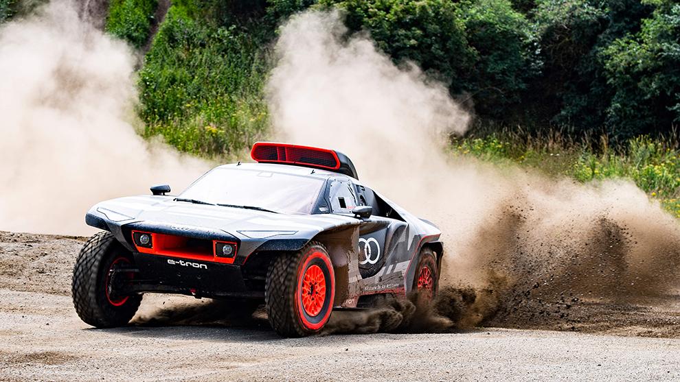 """El plan de Audi: un intenso programa de test y """"más de una carrera"""" antes del Dakar"""