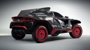 Audi RSQ e-tron - Carlos Sainz - Rally Dakar - eléctrico - Stephane...