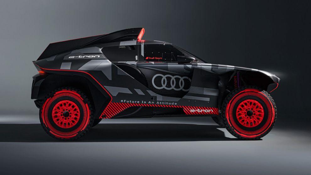 Audi RSQ e-tron - Carlos Sainz - Rally Dakar - eléctrico - Stephane Peterhansel