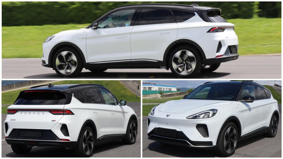 Arcfox Alpha T: fotogalería del nuevo SUV chino eléctrico