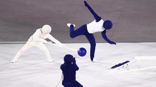Los Pictogramas fueron lo mejor de la Inauguración de Tokyo 2020.