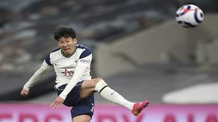 Tottenham's Son Heung-min.