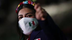 La delegación mexicana impacta en el desfile de la Inauguración de Tokyo 2020