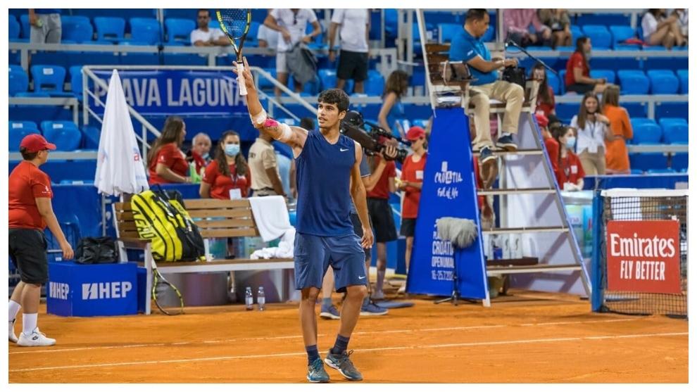 Carlos Alcaraz supera a Krajinovic y es el segundo más joven en una semifinal...