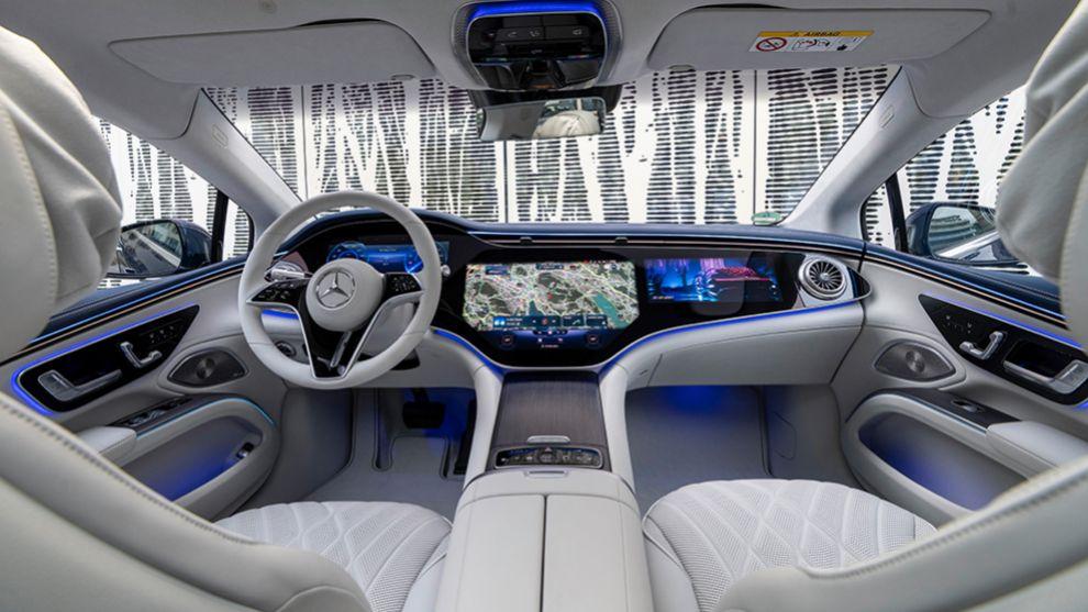 Mercedes EQS - Clase S eléctrico - coches eléctricos - limusina - prueba - hyperscreen