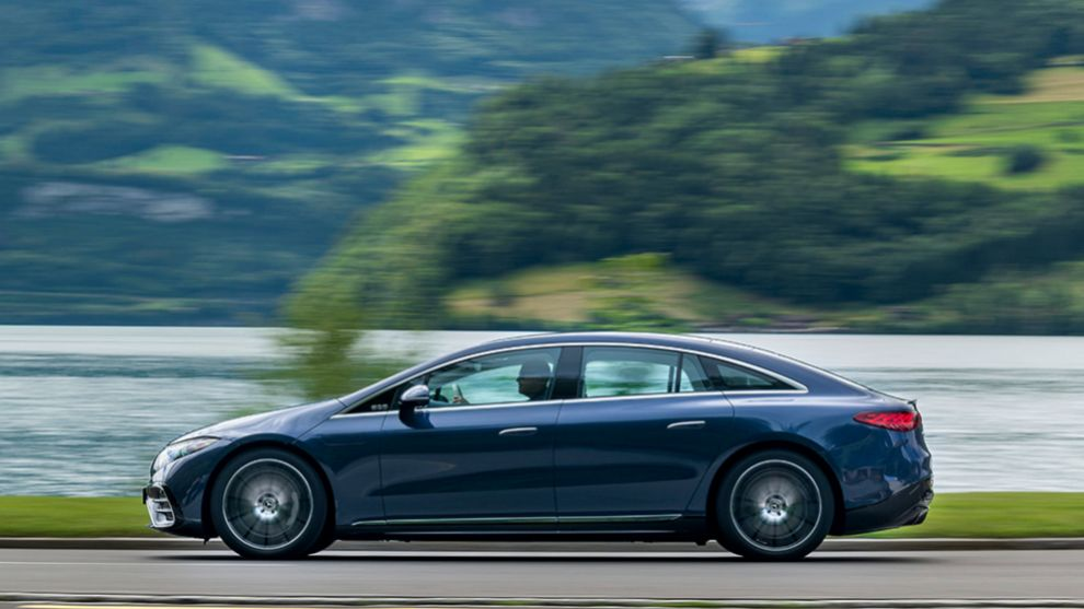 Mercedes EQS - Clase S eléctrico - coches eléctricos - limusina - prueba