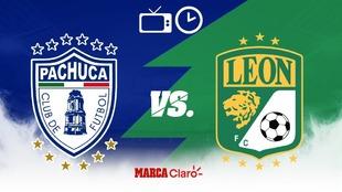 Pachuca vs León en vivo: horario y dónde ver por tv