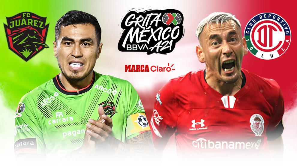 Juárez vs Toluca en vivo y en directo online: resultado de la Jornada 1 hoy.