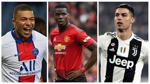 Mbappé, Pogba y Cristiano son algunos de los protagonistas del...