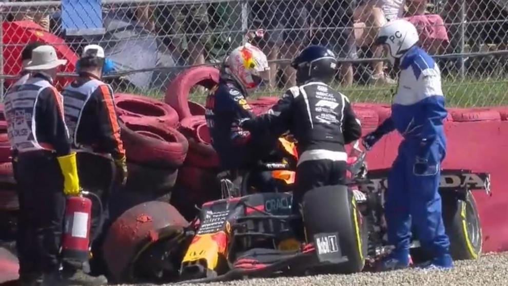 Red Bull revela el coste de la reparación del coche de Verstappen