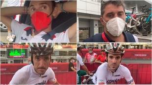 Valverde, Momparler y los hermanos Izagirre atendieron a MARCA