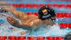 Paliza de España en waterpolo, récord de España en natación...