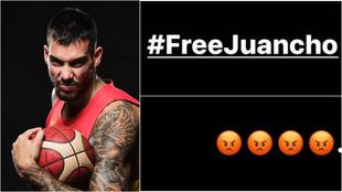 """""""Free Juancho"""": el enfado de Willy tras conocer que su hermano no estará en los Juegos"""