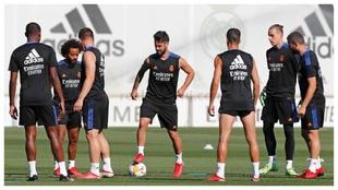Alaba, Marcelo, Jovic, Isco, Lucas, Lunin and Nacho