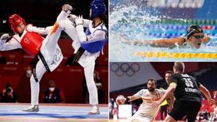 El resumen de la primera jornada del equipo español en los Juegos Olímpicos
