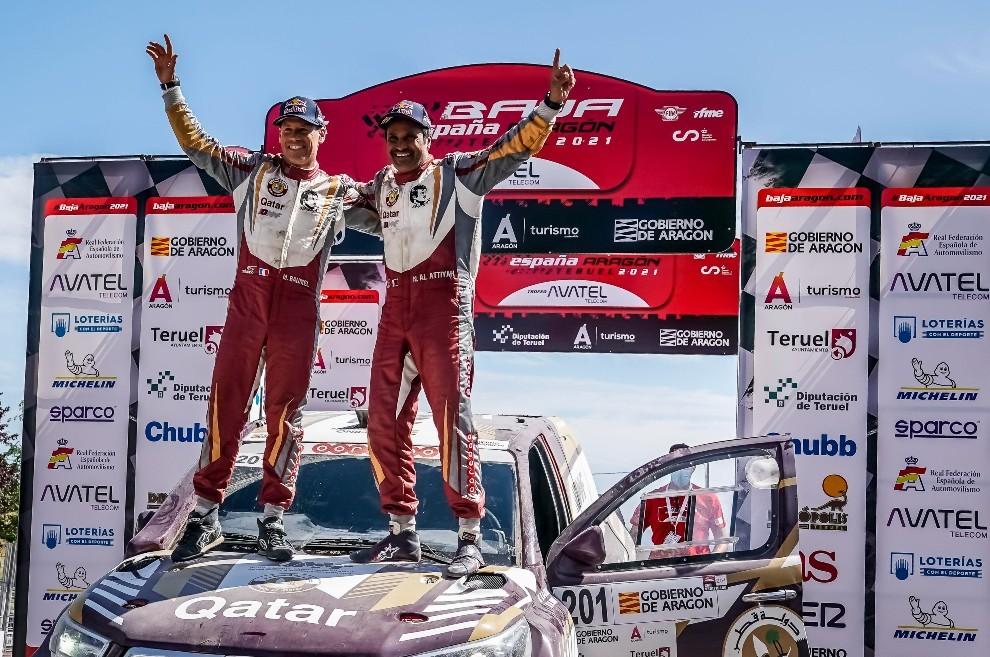 Baja Aragón - Nasser Al-Attiyah - victoria - Toyota - coches