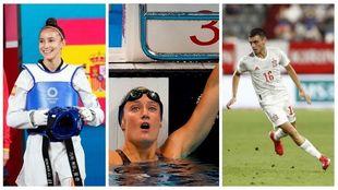 Nueva jornada para nuestros deportistas españoles
