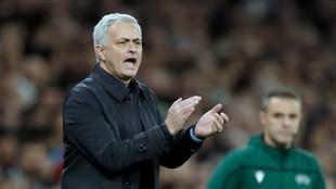 Jose Mourinho, nuevo entrenador de la Roma.