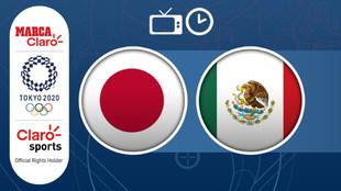 Futbol Juegos Olimpicos Tokio 2021: Japon vs Mexico hoy en vivo y en...