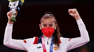 ¡Plata para Adriana! La primera medalla de España