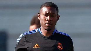 David Alaba in training