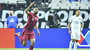 Qatar logra el primer pase a las semifinales de la Copa Oro.