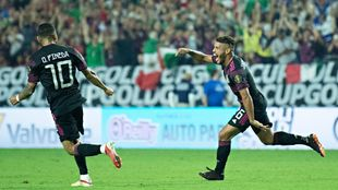 México avanza a la semifinal de la Copa Oro.
