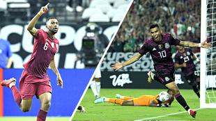 Así se juegan las Semifinales de la Copa Oro 2021 en Estados Unidos.