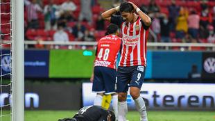 Chivas lamenta la derrota.
