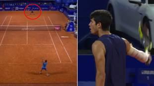 El descomunal grito final de Carlos Alcaraz tras acceder a su primera final de ATP