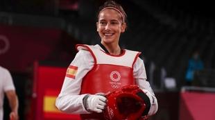 Adriana Cerezo, subcampeona olímpica.