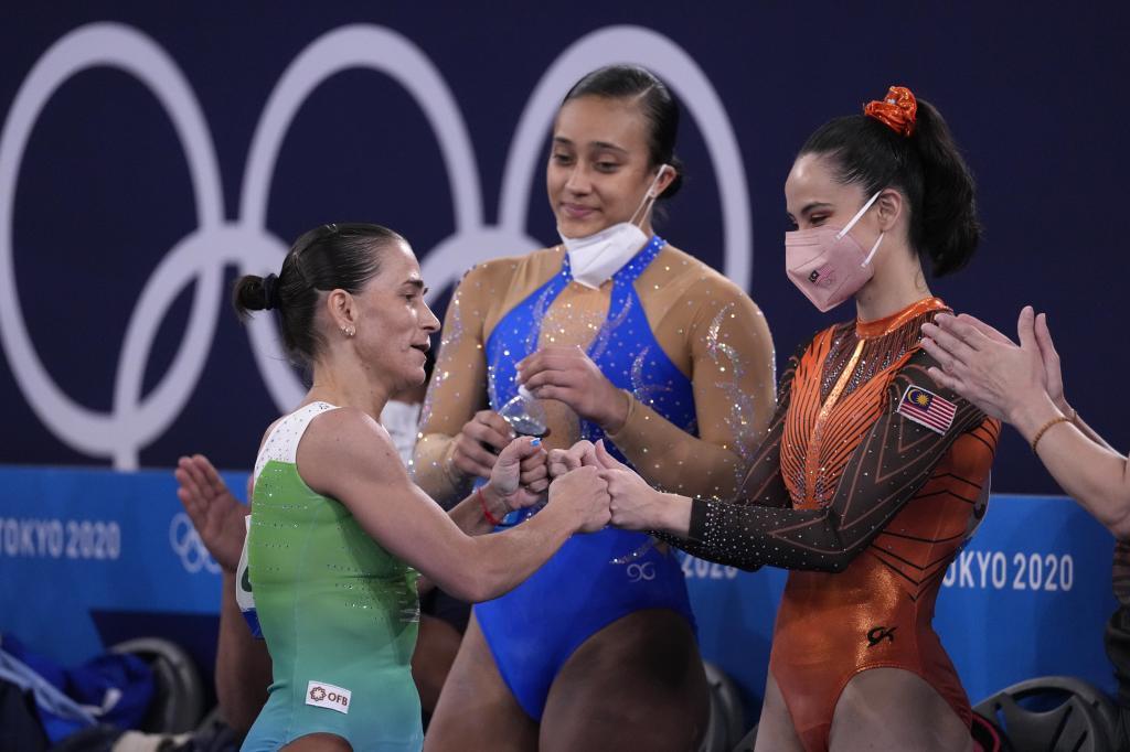 Gimnasta Oksana Chusovitina se retira de los Juegos Olímpicos a los 46 años; ganó dos medallas y representó tres banderas