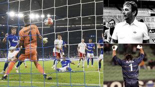 Schalke.Hamburgo, Brian Clough y Buffon.