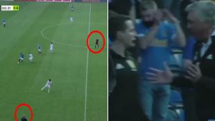 El árbitro añade 4 minutos, Ancelotti se cabrea... ¡y acaban pitando el final antes de tiempo!
