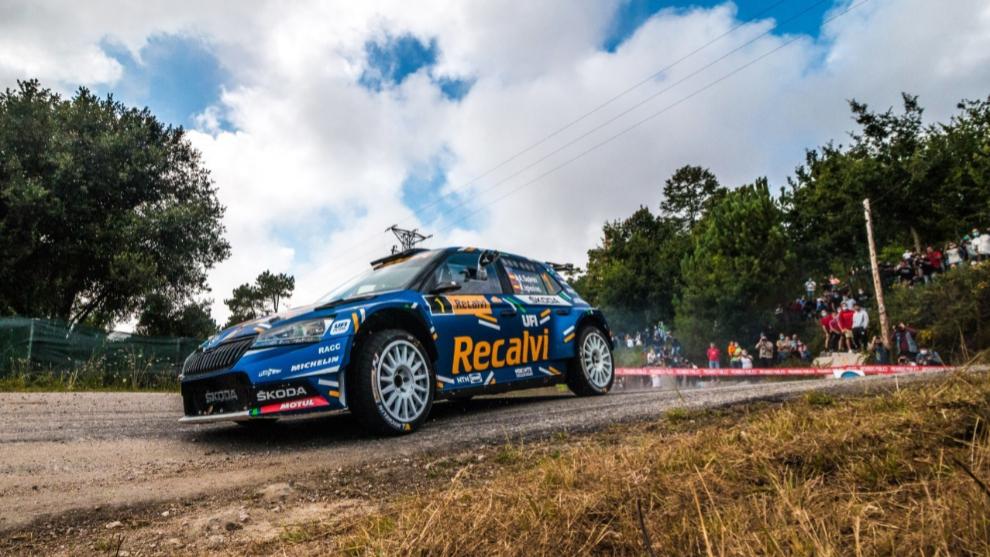 'Cohete' Suárez, dueño y señor del Rally Rías Baixas
