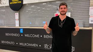 Rodrigo de Paul arrives in Madrid