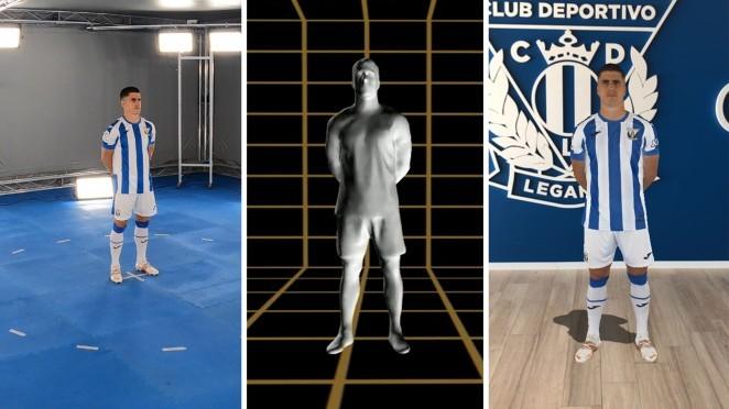 La nueva camiseta del Leganés cuenta con la más alta tecnología 3D.
