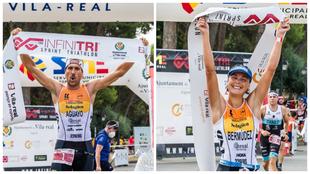 Emilio Aguayo y Natalia Bermudez de Castro celebran su triunfo en...