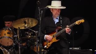 La legenda estadounidense del folk-rock Bob Dylan.