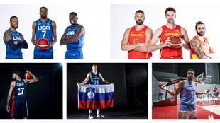 Las grandes estrellas del baloncesto olímpico